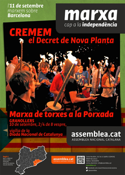 Cartell Granollers 2012