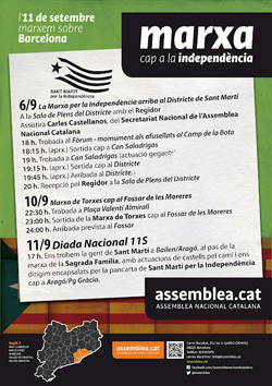 Cartell Sant Marti 2012